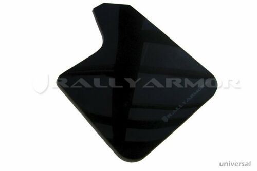 No Hardware Rally Armor UR Black Mud Flap w// Grey Logo Universal