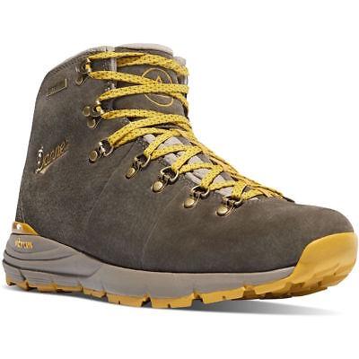 """Danner 62249 Men's 4.5"""" Mountain 600 Waterproof Boots, Hazelwood/Yellow"""