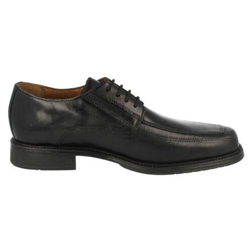 Herren Clarks Glattes Leder Klassisch Formell Intelligente Spitzen Sich Schuhe
