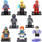 Super Storm Heroes Atom Human Torch Flash 8 Mini figures Building Brick Toy lEGO