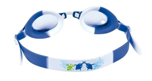 blau/Muster 9908 Beco Schwimmbrille Kinder