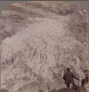 Charmant Escalade En Suisse 1905. Looking Sur L'supérieur Grindelwald Glacier