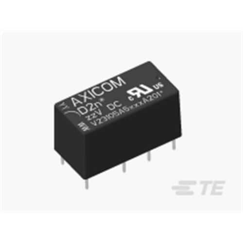 TE Connectivity D2N05-167 Miniatur-Relais 2x UM 5V= 2A 167 Ohm DIL Axicom