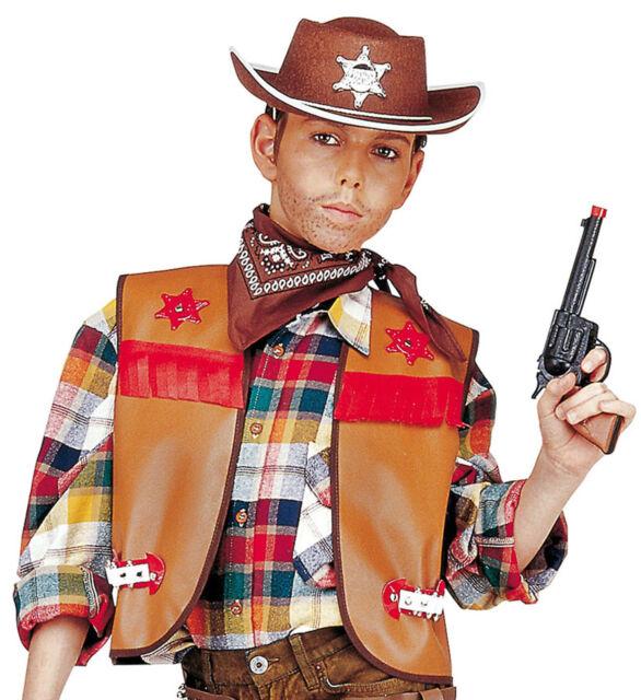 1c9d17807f6 Buffalo Bill Vest Child Fancy Dress Costume Boys One Size Fits Most ...