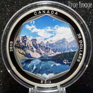 Details About 2019 Peter Mckinnon 1 Moraine Lake 30 2 Oz Pure Silver Coin Canada