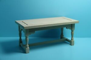 Dollhouse-Miniature-Unfinished-Rectangle-Working-Table-or-Kitchen-Island-T4295