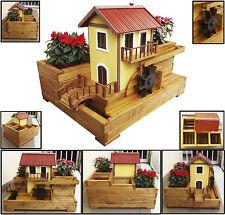 Portavasi legno in vendita ebay for Portafiori in legno