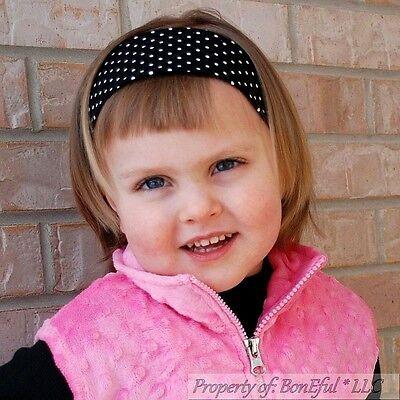 "BonEful RTS NEW Girl Disney Red Black Yellow White Dot 4/"" Mickey Minnie Hair*Bow"