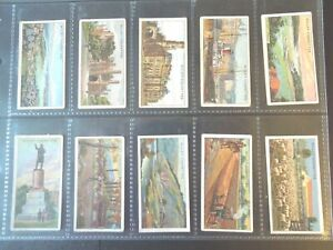 1915-Wills-OVERSEAS-DOMINIONS-AUSTRALIA-Tobacco-cards-complete-50-card-set