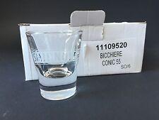 6x SMIRNOFF Vodka Shot Glas Gläser Stamper Kurze Schnapsglas NEU OVP