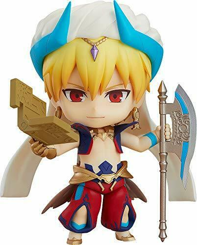 Nendoroid Fate Grand Order Caster Gilgamesh Ascension Ver. Figure Japan