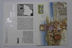 NIGERIA-1-KOBO-1974-COIN-COVER-A98-54