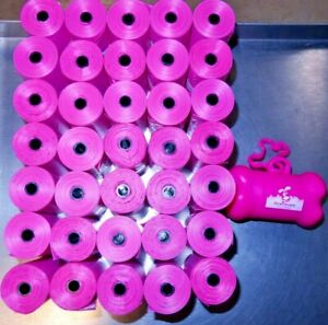 Downtown-Pet-Supply-35-Pink-Rolls-Of-Dog-Bags-Container-700-Bags-New