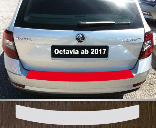 Protector de parachoques charol lámina de protección transparente skoda Octavia 3 combi a partir de 2017