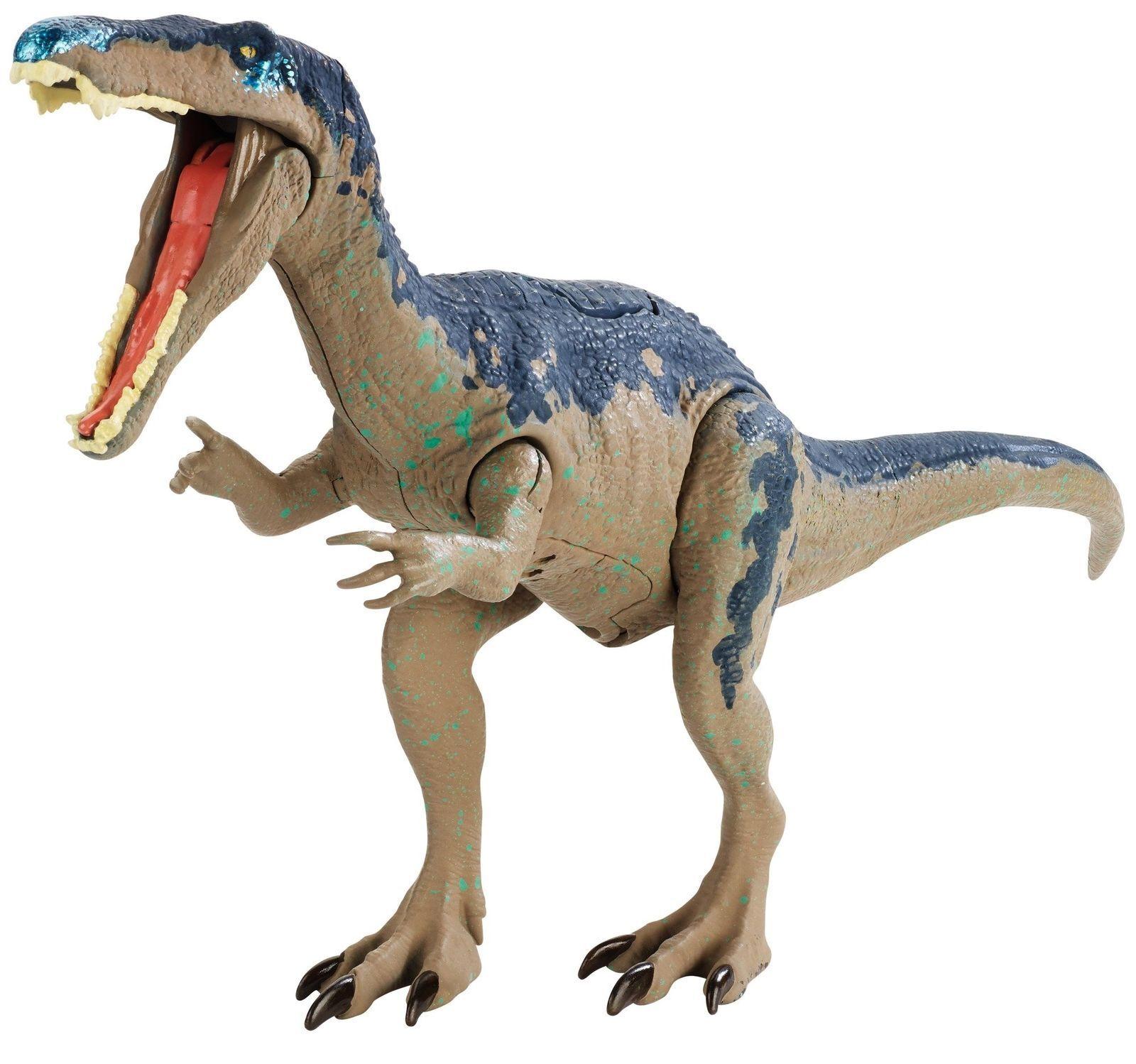 Brand NEW Jurassic World Fallen Kingdom Roarivores Roarivores Roarivores Baryonyx Figure SOUND  c245ee