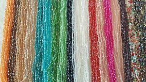 Joblot-36-strings-4mm-Mixed-colour-bicone-Crystal-beads-new-Wholesale-lot-4