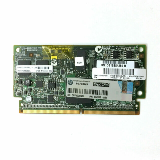 534916-B21 HP 512MB Flash Backed Write Cache 578882-001 570502-002