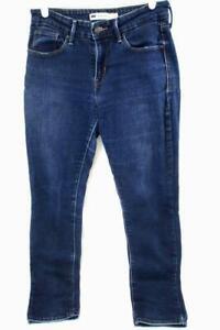 Levi-039-s-Women-039-s-Dark-Blue-Skinny-Jean-Pants-Size-6