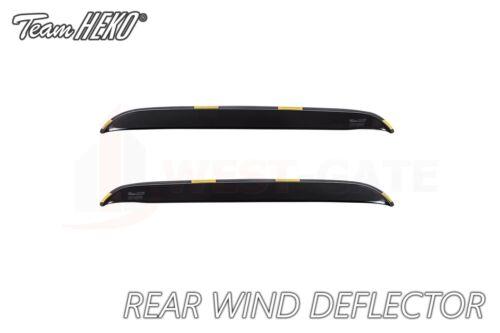 Citroen C3 Picasso 5door hatchback 09-17 REAR wind deflectors HEKO TINTED new