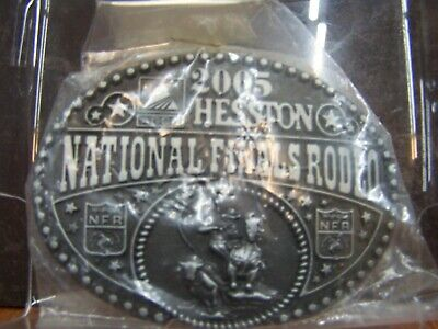 National Finals Rodeo Hesston 2020 NFR Adult Cowboy Buckle New Wrangler AGCO