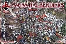 72062,1:72 Mars Figures, Swiss halberdiers, 16th, bestens geeignet für Dioramen