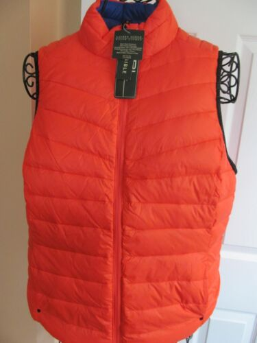 Orange Down Reversible L Lauren Blå Ralph Størrelse Active 165 Vest Ny HfSxqBO