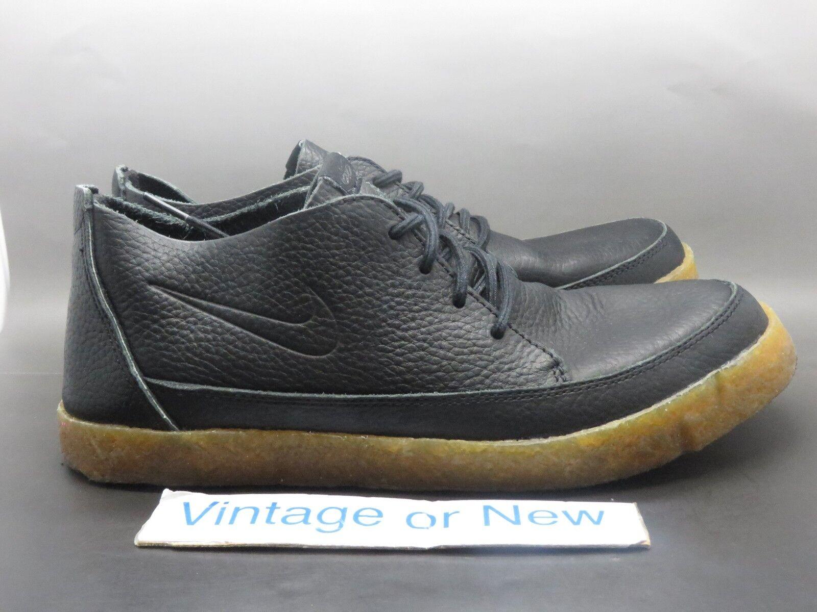Men's Nike Rzol Low Premium 6.0 Black Gum Shoes Price reduction