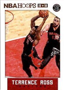 2015-16-Panini-NBA-Hoops-30-Terrence-Ross-Toronto-Raptors-NM-Single