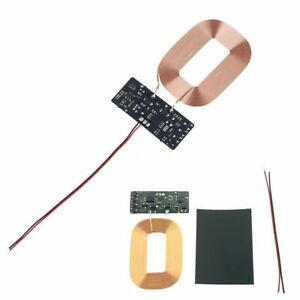 Módulo Inalámbrico Cargador Rápido estándar Qi transmisor PCBA Placa de Circuito + coilts