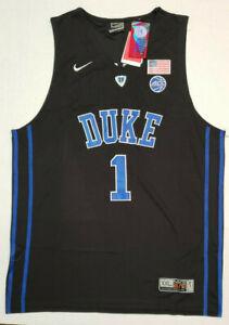 New-Zion-Williamson-1-Duke-Blue-Devils-BLACK-Sewn-Stitched-JERSEY-NWT