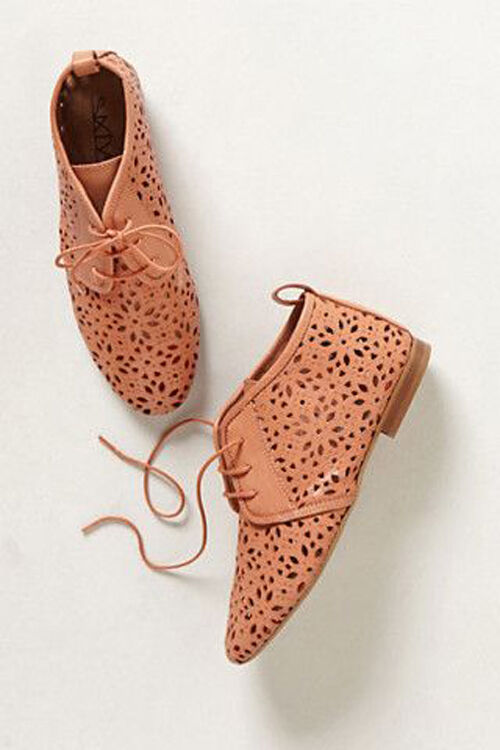 NEW NIB Anthropologie Flore Lasercut Booties By 67 Collection, Spain, EURO 36
