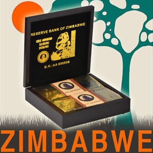 WR-100PCS-Zimbabwe-100-Trillion-Dollars-Color-Gold-Banknote-Sealed-In-Wooden-Box