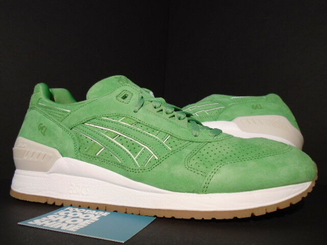 ASICS GEL RESPECTOR LYTE 3 CONCEPTS CNCPTS COCA verde III blancoo H54GK-8585 DS 11