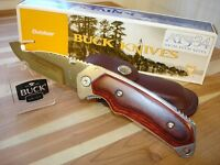 2002 Buck 276 Alpha Hunter Knife 1st Production Run Rosewood Ats-34 + Sheath