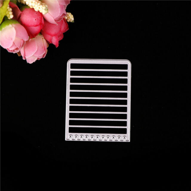 Brief Greeting Cards Book Style Metal Cutting Dies Scrapbook Paper Card Craft BR