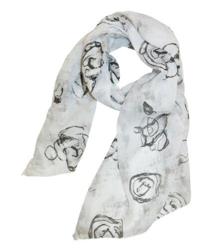 Damen Seidenschal Schal Seidenmischung Tücher Blumen Rose Rosen Halstuch Silk