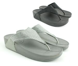 Mujer-senoras-de-Baja-Cuna-Deportes-postura-Gimnasio-Fit-flop-Caminar-Sandalias-Zapatos-Talla