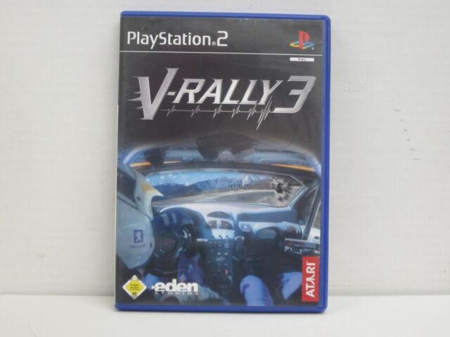 V-Rally 3 (Sony PlayStation 2, 2002, DVD-Box)