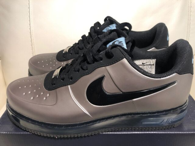 new styles 10036 9d3d7 Great Condition Nike Air Force 1 Foam Pro Low Pewter Silver Size 7.5