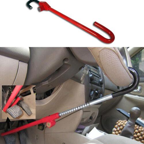 New Anti-theft Car Steering Wheel Lock Clutch Red Heavy-duty Car Internal Fixer