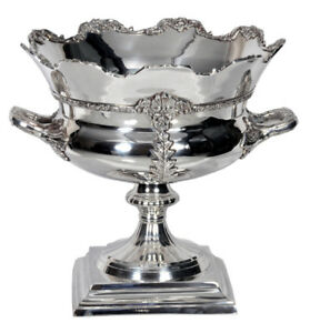 Fabulous SHEFFIELD nickel placcato champagne wine cooler ~ ~ Fiore 							 							</span>