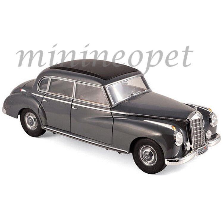 NOREV 183591 1955 MERCEDES BENZ 300 1/18 DIECAST MODEL CAR  DARK GREY