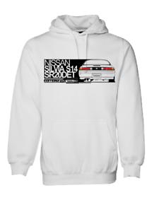 NISSAN SILVIA S14 200SX SR20 240SX JUMPER HOODIE COTTON RACE CAR TURBO JDM DRIFT