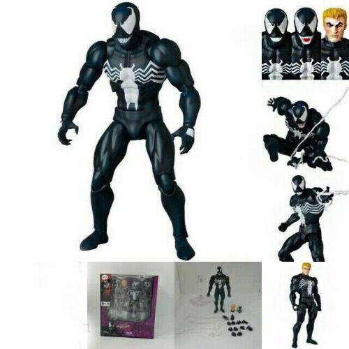 New MAFEX No.088 Venom Comic Version Replaceable Face Action Figure Toy No Box