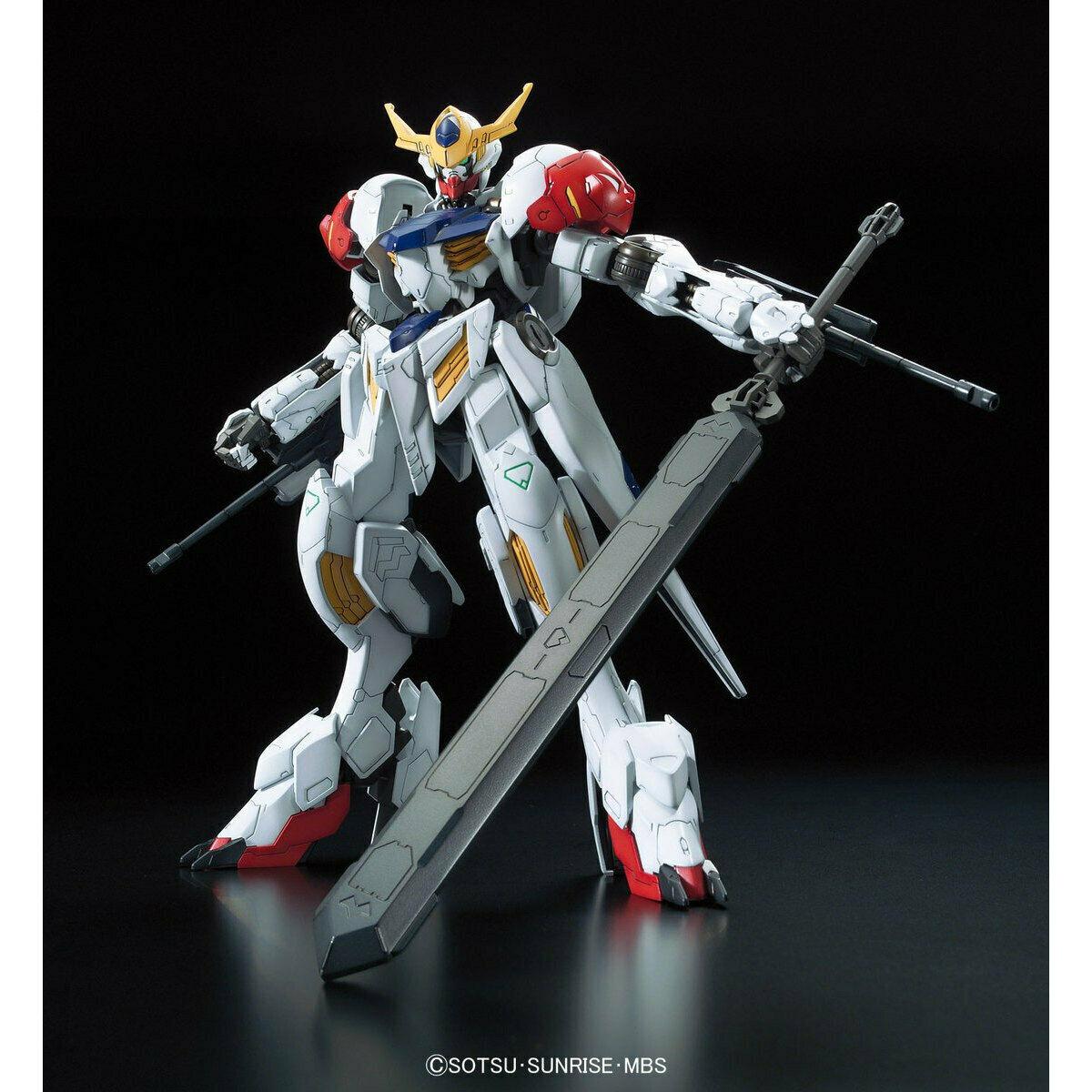 G -Tekketsu Järnblodiga föräldralösa 1  100 Full Mechanics Gundam Barbatus Lupus