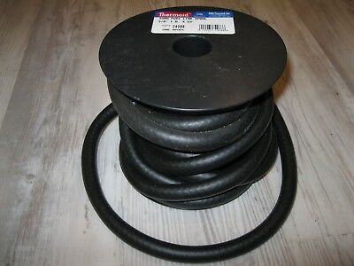 """6 FT LENGTH BLACK RUBBER HOSE USA MADE THERMOID FUEL LINE HOSE 3//8/"""" ID"""