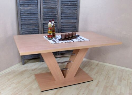 Buche-Natur Esstisch Esszimmertisch Küchentisch Säulentisch Tisch Farbe