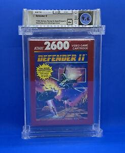 Defender II  --  WATA 9.6 A+   Atari 2600  --  Sealed and Certified  -- NEW