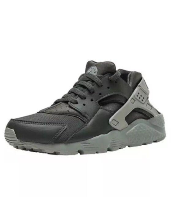f53c02909761 Nike Little Kids Huarache Run Size 2.5Y Shoes 704949-302 Dark Green Stucco