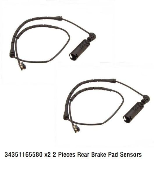 Brake Pad Wear Sensor Front+Rear for BMW X5 E53 00-06 Set of 4pcs
